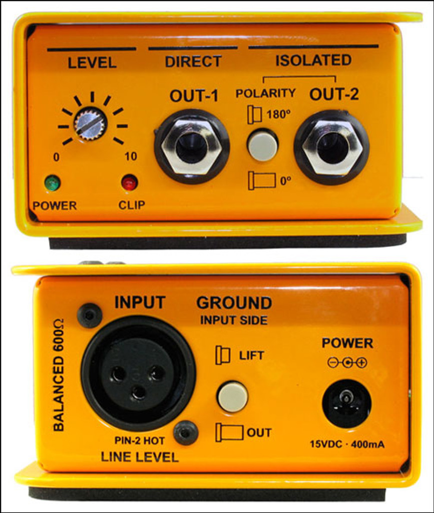 Radial XAMP Active Class- A Reamper