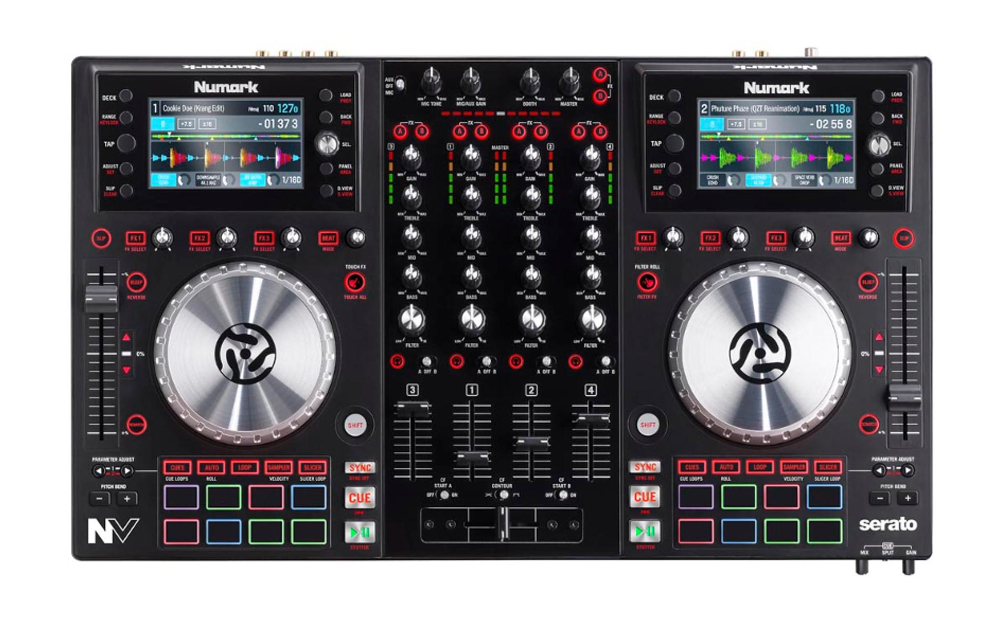 Numark NV 4-Channel Serato DJ Controller w/ 16 Trigger Pads