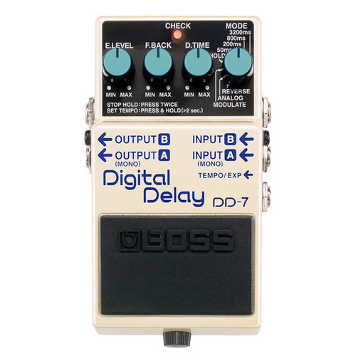 DD7 Boss Digital Delay Pedal