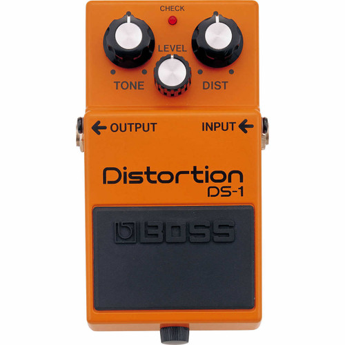 Boss DS-1 Distortion Pedal - Overhead