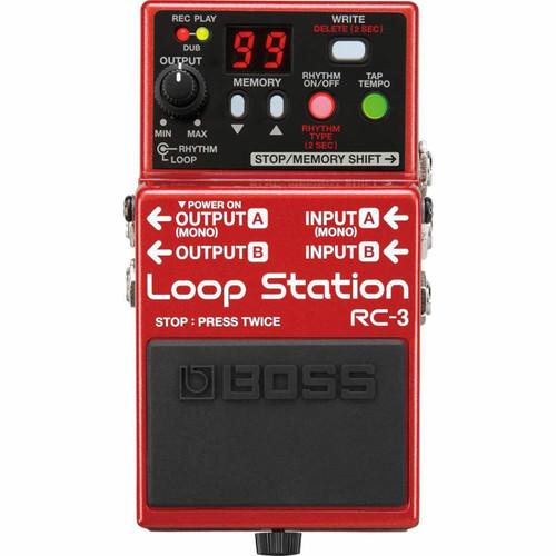 Boss RC3 Loop Station - Overhead