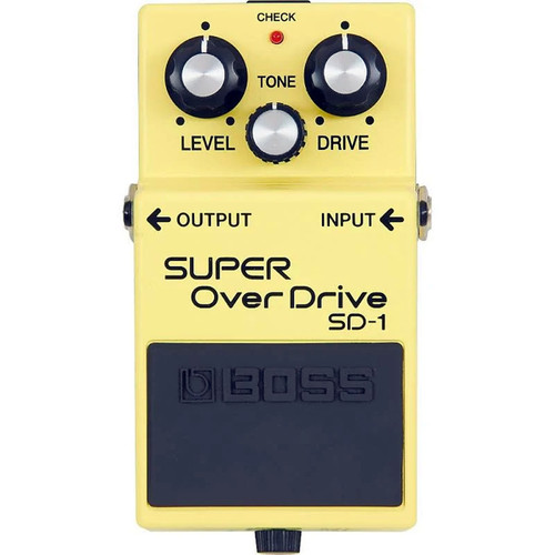 Boss SD1A Super Overdrive - Overhead