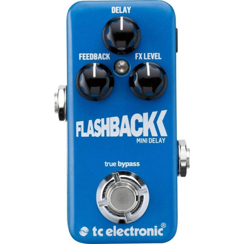 TC ELECTRONICS 960806001 Flashback Mini Delay top