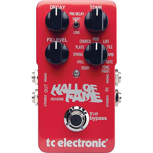 TC ELECTRONIC 960660001 Hall of Fame Reverb