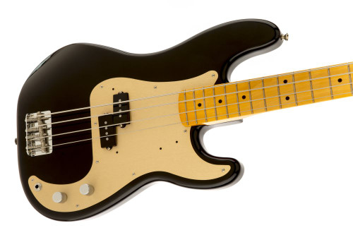 Fender 50's P Bass MN Blk- Maple Neck