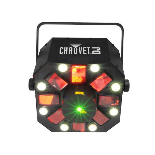 CHAUVET SWARM5FX 3 in 1 Moonflower LED w/ RG Laser and Strobe