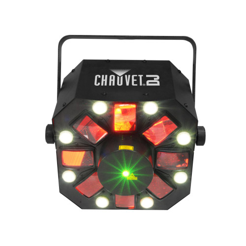 CHAUVET SWARM5FX 3 in 1 Moonflower LED w/ RG Laser and Strobe
