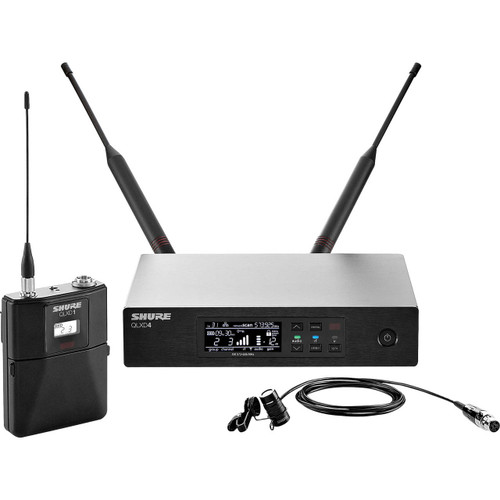 Shure QLXD1483 Omni Wireless Lavalier Microphone System