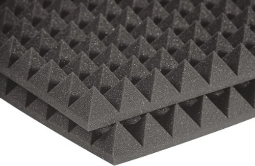 "Edit a Product - AURALEX 2PYR24CHA 2"" Pyramid Studio foam"