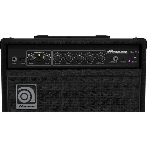 Ampeg BA110V2 Bass Combo - Front Panel
