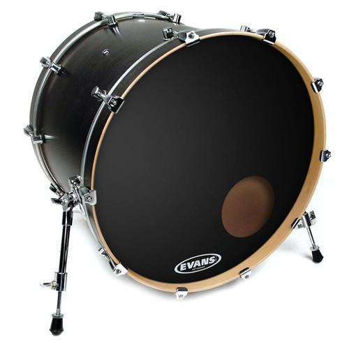 "EQ3 Reso Black - Evans Bass Drum Head - 22"""