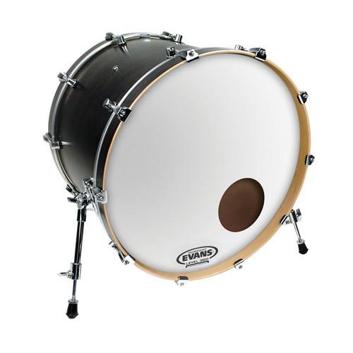 "EQ3 Reso Smooth White - Evans Bass Drum Head - 22"""