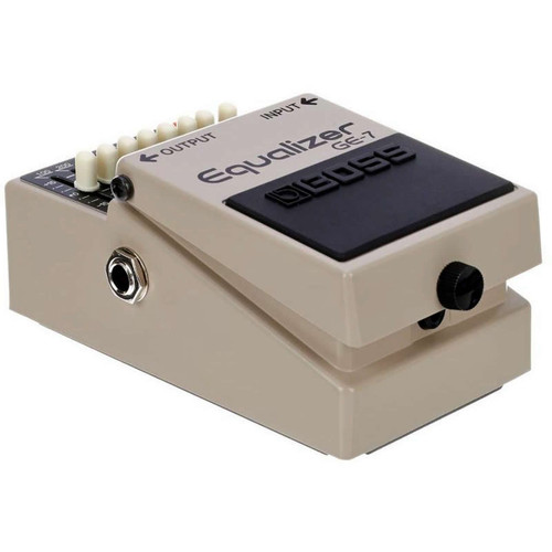 Boss GE7 7 Band EQ pedal Left