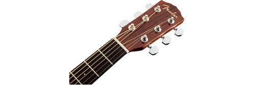 Fender CD60S Solid-Top Acoustic Guitar Headstock Front Facing