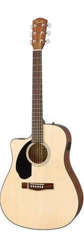 Fender CD60SCELHN Left-Handed Front Facing