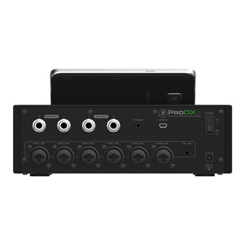 Mackie Pro DX8 wireless mixer Back