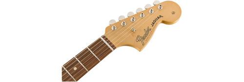Fender Classic Player Jaguar HH Headstock Front Facing
