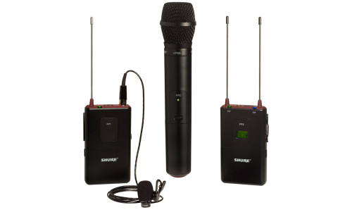 Shure FP1583 Camera Lavalier Wireless System with optional handheld mic