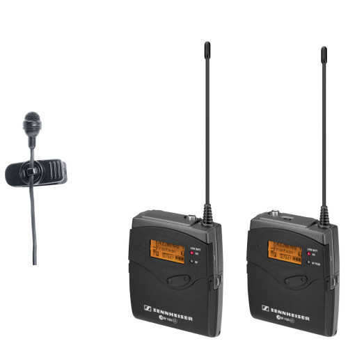 Sennheiser EW122PG3 Wireless Lavalier System for Camera