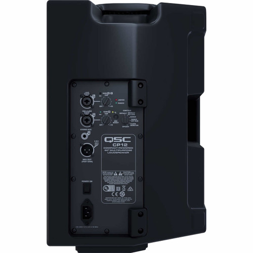 QSC CP12 Compact Powered Loudspeaker Rear
