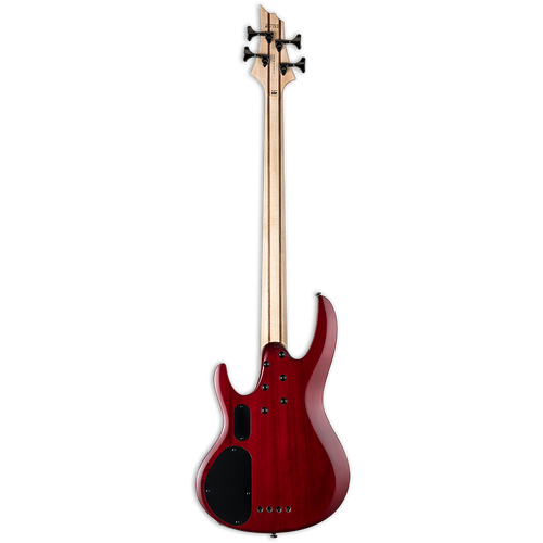ESP LTD B204FM  4 String Bass Flamed Maple - See Thru Red