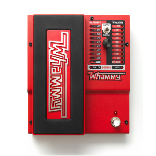 Digitech Whammy (5th Gen) 2-Mode Pitch-shift Effect with True Bypass