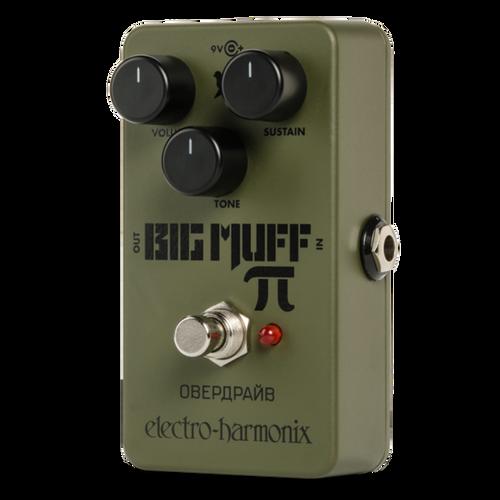 Electroharmonix Green Russian Big Muff Reissue Fuzz Pedal