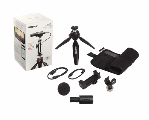 Shure MV88+ Video Kit iPhone or Android