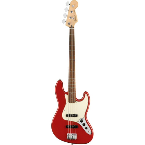 Fender Player Jazz / Pau Ferro 4 String Sonic Red