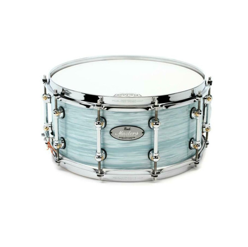 """PEARL Reference Pure Snare Drum - 14"""" x 6.5"""" Ice Blue Oyster"""