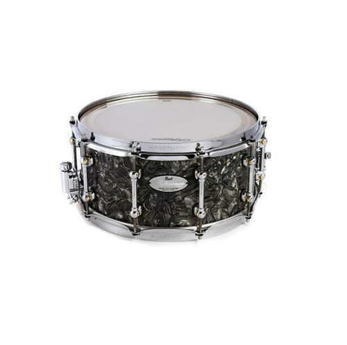 """PEARL Reference Pure Snare Drum - 14"""" x 6.5"""" Pewter Abalone"""