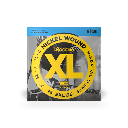 D'Addario EXL125 9-46 Strings