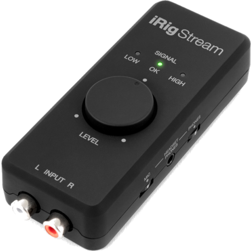 IK MULTIMEDIA iRig Stream Streaming audio interface