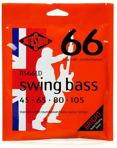 RotoSound RS66LD Swing Bass 45-105 Strings