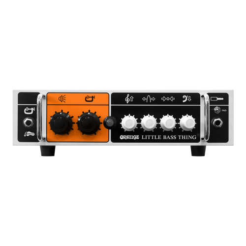 Orange Little Bass Thing- Bass Head Amp