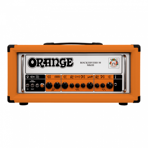 Rockerverb 50 MKIII 50-watt 2-channel Tube Head-Orange (RK50HMKIII)