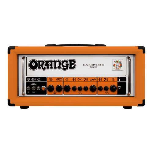 Rockerverb 50 MKIII 50-watt 2-channel Tube Head-Orange (RK50HMKIII)