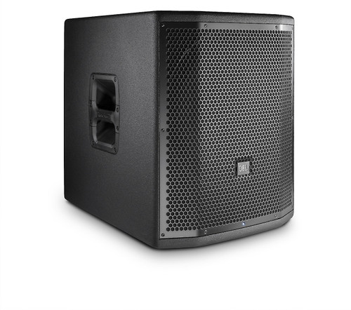 "JBL PRX815XLFW Powered 15"" subwoofer system, wood cabinet, M20 theaded Pole Socket"