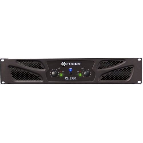 XLi2500 Two-channel, 750W @ 4Ω Power Amplifier