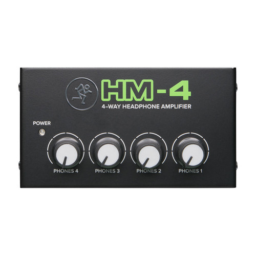 MACKIE HM4  4-Way Headphone Amplifier