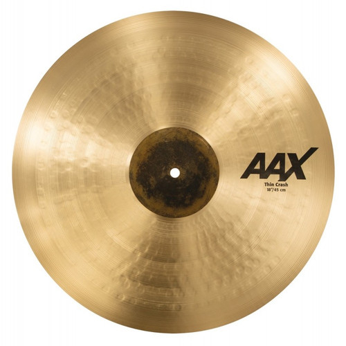 "SABIAN AAX 18"" Thin Crash 21806XC"