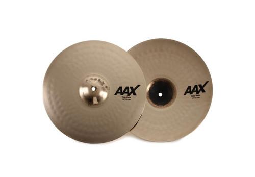 """SABIAN AAX 14"""" Thin Hi-Hat Cymbals 21401XCB"""