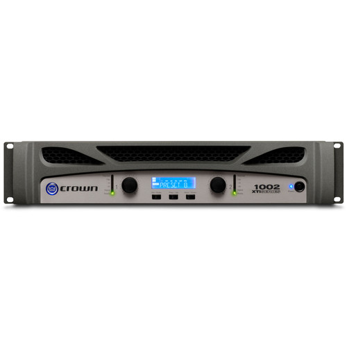 XTI1002 Two-channel, 500W @ 4Ω Power Amplifier