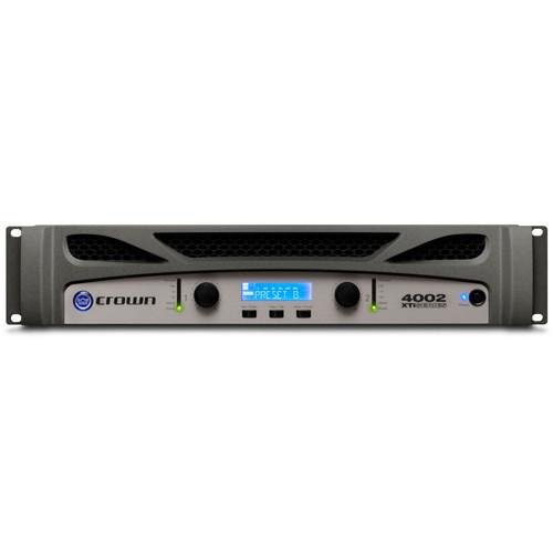 XTI4002 Two-channel, 1200W @ 4Ω Power Amplifier