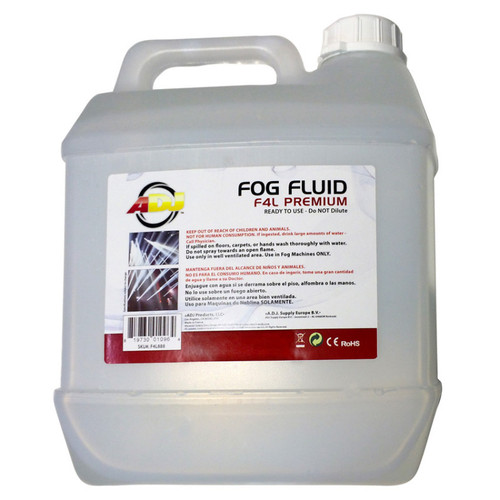 F4L PREMIUM New premium quality fog juice in 4 liter  container