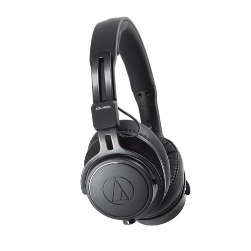 Audio Technica ATHM60X Closed-back dynamic monitor headphones, detachable cables, black