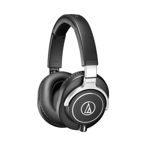 Audio Technica ATHM70X Closed-back professional monitor headphones, detachable cables.