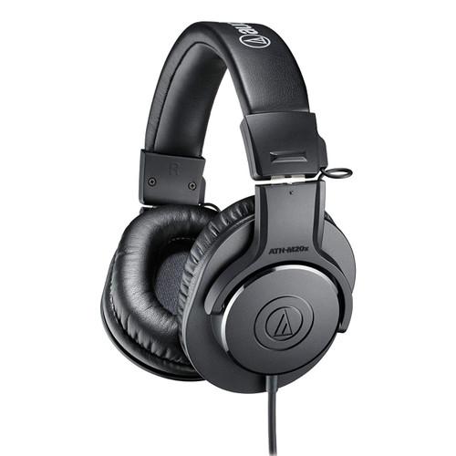 Audio Technica ATHM20X  Closed-back dynamic monitor headphones