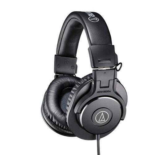 Audio Technica ATHM30X  Closed-back dynamic monitor headphones