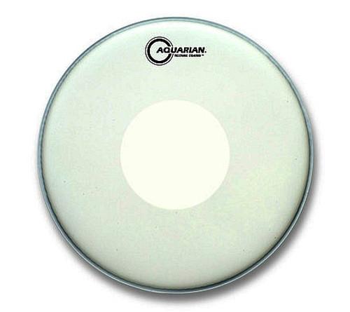 "13"" Texture Coated Single Ply With Power Dot- White (TCPD13)"